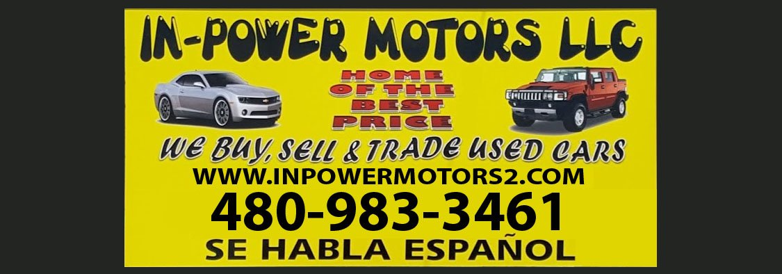 Bad Credit Car Dealerships >> Buy Here Pay Here Phoenix $500 Down Cars - In Power Motors 2